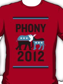 "PHONY 2012 - ""PHONY 2012"" Poster Design v2 T-Shirt"