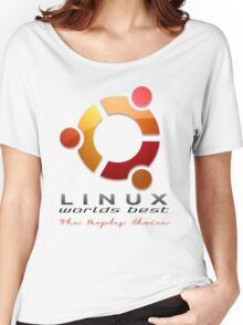 Ubuntu - The Peoples Choice Women's Relaxed Fit T-Shirt