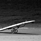 little surfer girl by geof