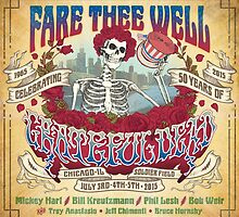 fare thee well - grateful dead by yoyowest