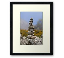 a tower of strength Framed Print