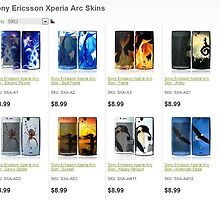 Buy latest designs of Sony Xperia Acro Skins by bbrij07h