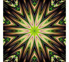 Color 11 Kaleidoscope Photographic Print