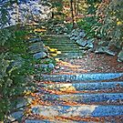 Stairway To Olmstead Manor by Geno Rugh