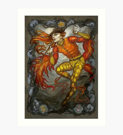 The Pied Piper Art Print