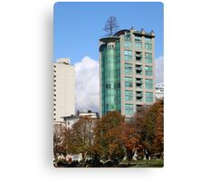 Highrise at English Beach, Vancouver Canvas Print