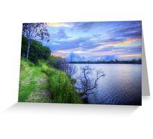 Another Lonesome Sunset Greeting Card