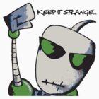 Strange People Green by SlowIzzm