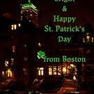 Bright & Happy St. Patrick's Day from Boston by Owed to Nature