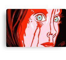 Bloody Prom Canvas Print