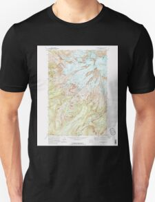 USGS Topo Map Washington State WA Mt Rainier West 242661 1971 24000 Unisex T-Shirt
