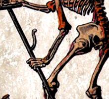 Death Card Sticker Sticker