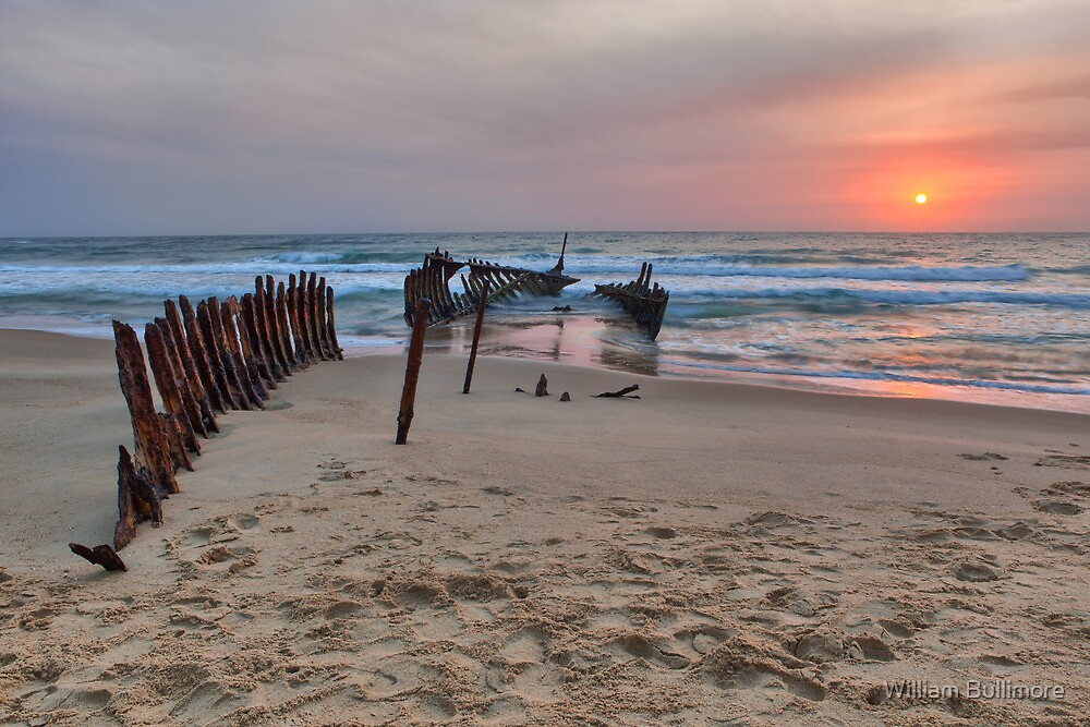 Dicky Beach • Caloundra • Queensland by William Bullimore