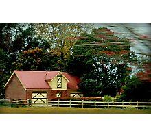Country Farm near Grafton Photographic Print