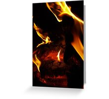 Keep the flame alive Greeting Card