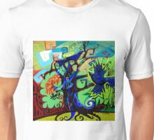 Gargoyle Crows Unisex T-Shirt