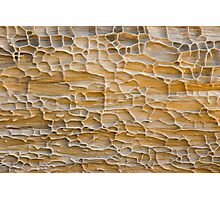 Pattern in Sandstone Photographic Print