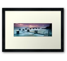 Coogee Baths Framed Print