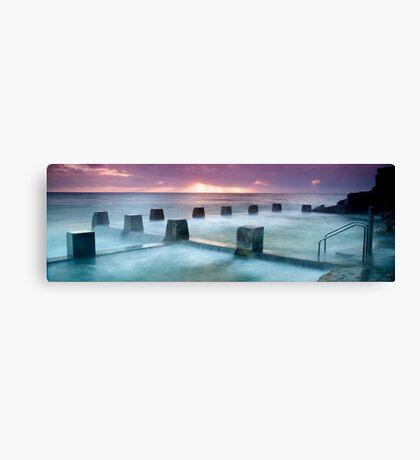 Coogee Baths Canvas Print