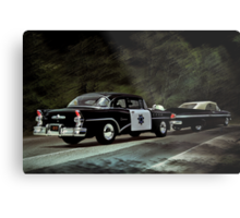 Highway Patrol Metal Print