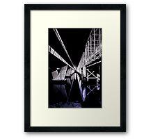 Nowra Bridge Framed Print