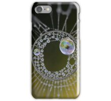 Spider Web Dew Edit iPhone Case/Skin