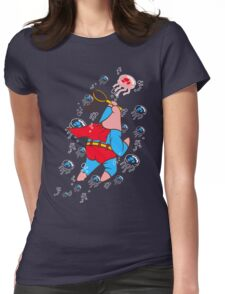 Superstar Jelly-fishing! Womens Fitted T-Shirt