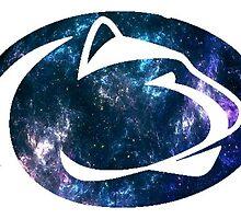 Penn State galaxy logo by linnnna