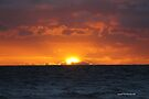 Mordialloc beach sunset 003 by Karl David Hill