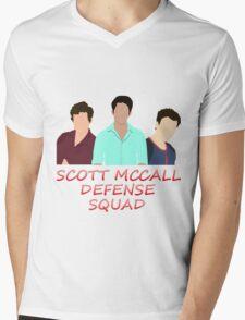 Scott McCall Defense Squad Mens V-Neck T-Shirt