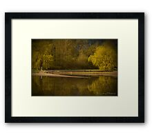 Peaceful Easy Feeling Framed Print