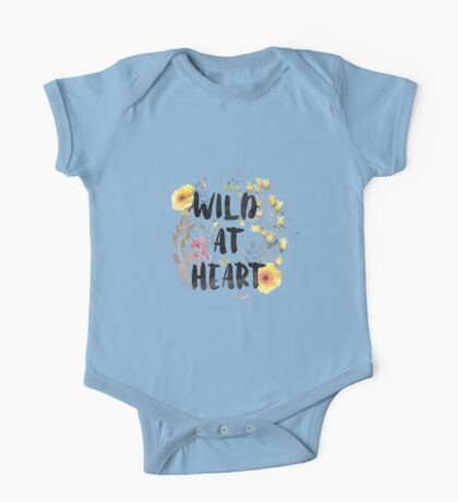WILD AT HEART One Piece - Short Sleeve