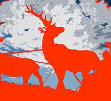 Orange Christmas by physiognomic