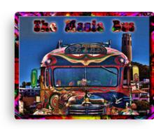 The Magic Bus Canvas Print
