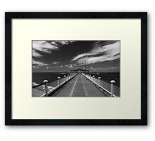 Redcliff Pier Framed Print