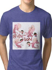 Steven and Lion. Tri-blend T-Shirt