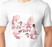 Steven and Lion. Unisex T-Shirt