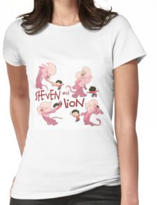 Steven and Lion. Womens Fitted T-Shirt