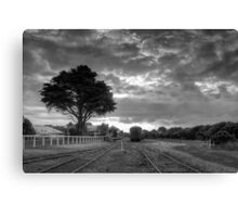 Silent Carriages  Canvas Print