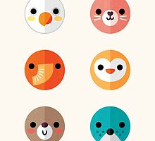 Smiley Faces - Set 1 by daisy-beatrice
