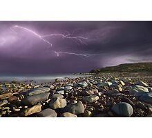 Fury Of Lightning Photographic Print