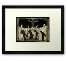 Can-Can Framed Print