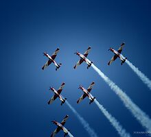 Red Arrows by Yohann Paranavitana