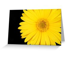 Yellow Bikini Greeting Card