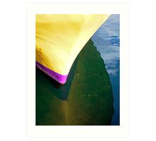 Yellow Hull Art Print
