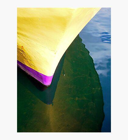 Yellow Hull Photographic Print
