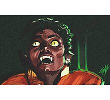 Thriller Night Photographic Print
