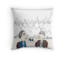 Binary Options News Cartoon Chart Forecast No Throw Pillow