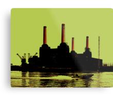 Battersea Power Station, London Metal Print
