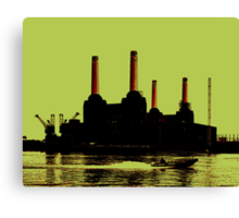 Battersea Power Station, London Canvas Print